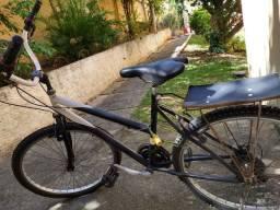 Bicicleta estilo praiana aro 26 com marcha