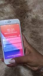 Título do anúncio: Iphone 7 Rose 32gb bateria 85% Semi novo