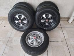 Título do anúncio: Roda Opala SS Caravan Dodge Maverick Impala Belair Camaro F100