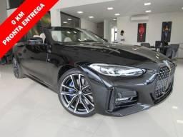 BMW 430i 2021 2.0 16V GASOLINA CABRIO SPORT AUTOMÁTICA PRETA ZERO KM!