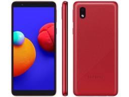 (NOVO) Celular Samsung A01 vermelho