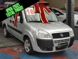 FIAT Doblo Fiat Doblò Essence 1.8  FLEX 7 Lugares IPVA 2021 TOTAL PAGO