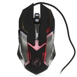 Mouse com fio Hmaston V6 Gaming
