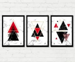 Quadros Geometrico Abstrato para decorar casa, sala, quarto, escritório