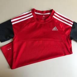 blusa adidas original INFANTIL tamanho M