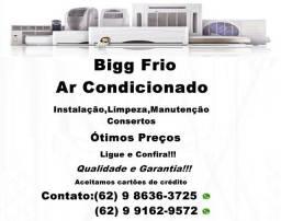 Título do anúncio: Ar Condicionado:Higienização,instalação,consertos e Manutenção-Faça seu orçamento