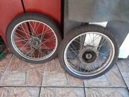 Jogo de roda 150 a disco