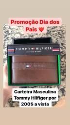 Mega Promoção Dias dos Pais! Carteira Tommy Hilfiger Nova e Original