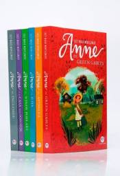 Kit 6 Livros | Anne De Green Gables Lucy Maud Montgomery SKU 9900059