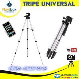 Tripé Universal Câmera e Celular | Mbtech Profissional
