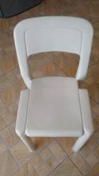 Título do anúncio: Cadeiras marfinite Parati branca