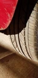 Troco pneus 195/55/R15 por mais usado e volta 400