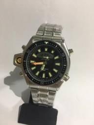 Relógio Modelo Aqualand Prata