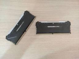 Kit de Memórias RAM Corsair Vengeance RGB PRO 3200mhz