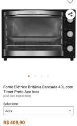 Vendo forno elétrico nunca usado (na caixa)