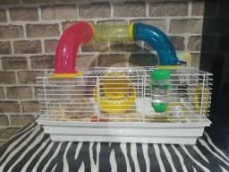 Título do anúncio: Gaiola para Hamster e Calopsita