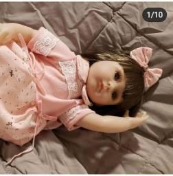 Bebê Reborn em Silicone Macio