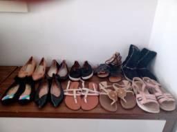 Lote de sapatos femininos n 36