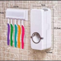 Dispensa para escova de dente e creme dental