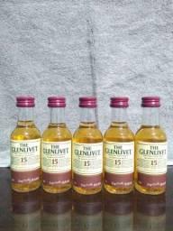 Miniaturas de whisky original lacrada