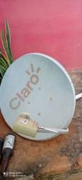 Antena tv via satélite