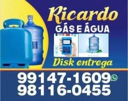Gás e Água 20 L