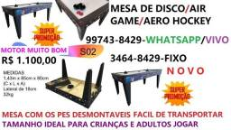mesa de disco / air game / aero hockey