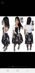 Vestido Moda Evangélica Femino Canelado