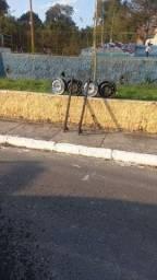 Rodas de ferro 13 mas bagageiro