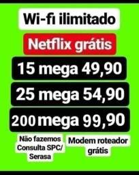 Título do anúncio: Internet Wi-Fi fibra