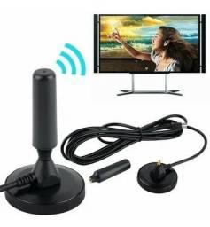 Antena Digital Hd Interna E Externa Com Cabo<br><br>