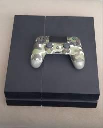 PS4 slim 500GB e controle Sony, ótimo estado
