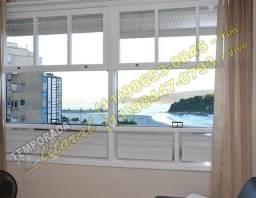001-Apartamento em São Vicente de Frente para o Mar, Netflix, Wifi