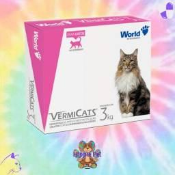 Vermífugo para gatos