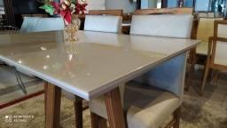 Título do anúncio: Mesa 4 de madeira maciça pronta entrega