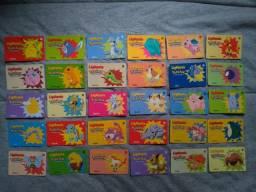 Coleção Completa Cartões Pokémon