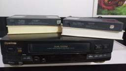 Video cassette  Gradiente + 2 VHS