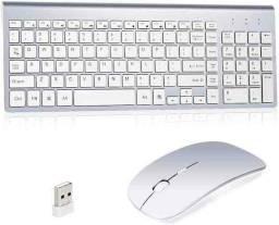 Título do anúncio: KIT  Teclado e mouse wireless sem fio ultra slim 2.4 ghz k-6.