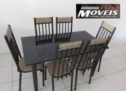 Conjunto de Mesas 6 cadeiras