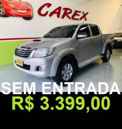 HILUX 2012/2013 3.0 SRV 4X4 CD 16V TURBO INTERCOOLER DIESEL 4P AUTOMÁTICO