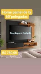 """Home Painel de tv até 60"""" polegadas novos montagem Gratuita"""