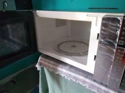 Microondas Brastemp 32 litros inox
