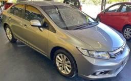 Honda  Civic Sedan LXR 2.0 Flexone 2014 Aut. 4p b/de couro impecável