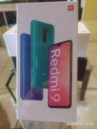 Xiaomi redmi 9 carbon grey 4/64gb novo lacrado.