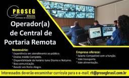 Título do anúncio: Operador de Central de Portaria Remora