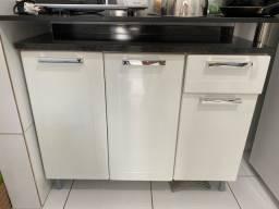 Armário bancada cozinha