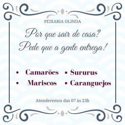CARANGUEJO Camarão MARISCO SURURU DELIVERY