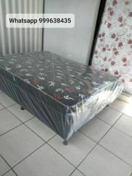 três opções em cama box casal com colchão conjugado em promoção