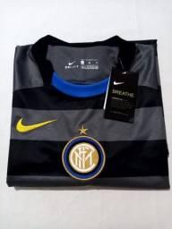 Camisa Inter de Milão Third 20/21 s/n° Torcedor Nike Masculina - Cinza+Amarelo
