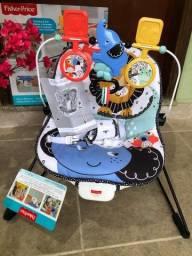 Título do anúncio: Cadeira de descanso vibratória Fisher Price